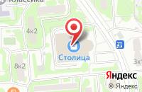 Схема проезда до компании Принтформула в Москве