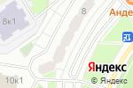 Схема проезда до компании Братиславский в Москве