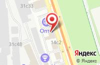 Схема проезда до компании Кефир Продакшн в Москве