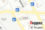 Схема проезда до компании Наша мебель в Донецке