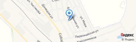 Детский сад №3 на карте Авдеевки
