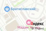 Схема проезда до компании Москитные сетки Братиславская в Москве