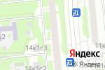 Схема проезда до компании Магистр в Москве