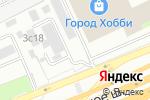 Схема проезда до компании Шиномонтажная мастерская на Щёлковском шоссе в Москве