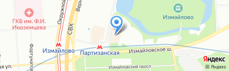 Top Shop на карте Москвы