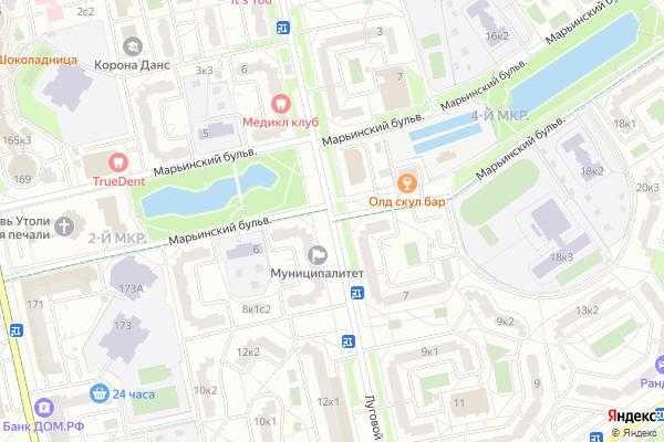 Ремонт телевизоров Луговой проезд на яндекс карте