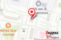 Схема проезда до компании Центрхлеб в Москве