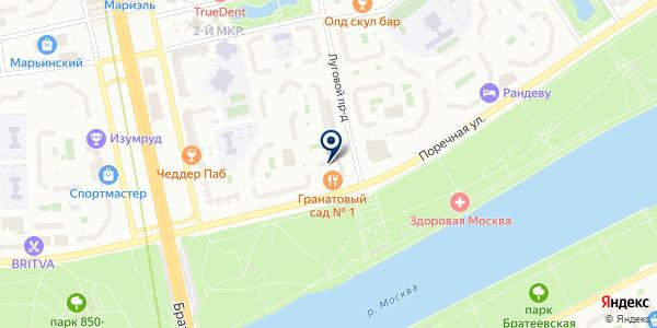 МегаСити-Р на карте Москве