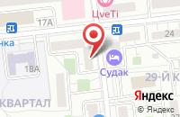 Схема проезда до компании Центр Бизнес Решений в Москве