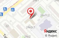 Схема проезда до компании Жилинвест в Москве
