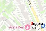 Схема проезда до компании НоваDент в Москве