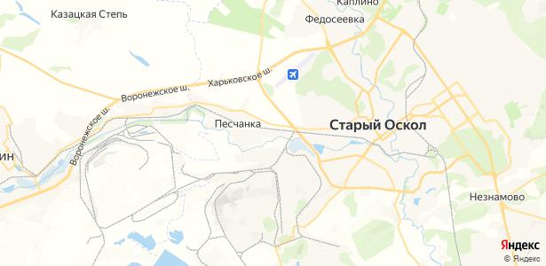 Новоселовка на карте