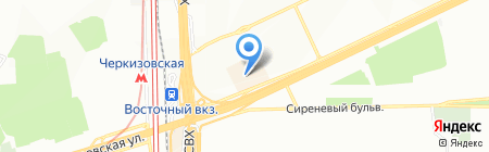 Тортик & Тортик на карте Москвы