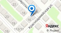 Компания ИМПЭК на карте