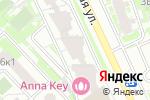 Схема проезда до компании ЮСТИ в Москве