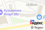 Схема проезда до компании Vidcomp в Москве