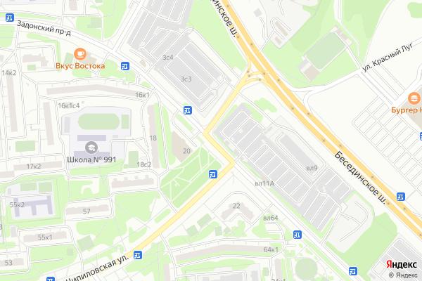 Ремонт телевизоров Задонский проезд на яндекс карте