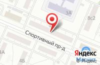 Схема проезда до компании Footlandiya в Подольске