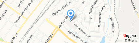 Алькон на карте Донецка