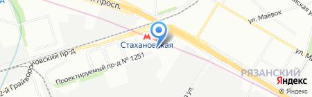 Климат Контроль Инжиниринг на карте Москвы
