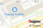 Схема проезда до компании Greta в Москве