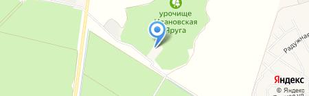 РАДУГА на карте Федосеевки