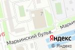 Схема проезда до компании Артемида в Москве