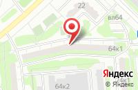 Схема проезда до компании Проектстрой в Москве
