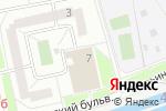 Схема проезда до компании Искусство в Марьино в Москве