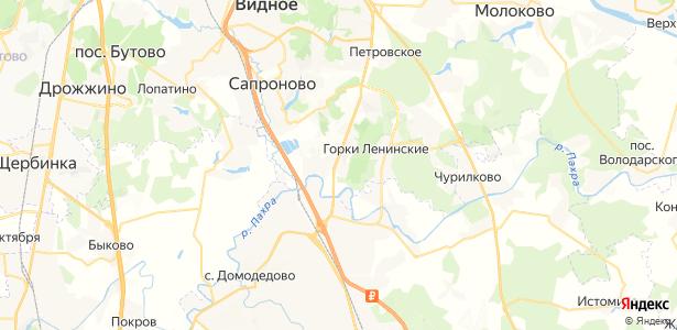 Горки на карте