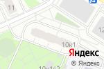 Схема проезда до компании Bestplitka в Москве