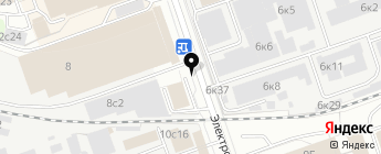 Модуль Кран на карте Москвы