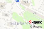 Схема проезда до компании Продуктовый магазин в Развилке
