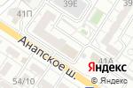 Схема проезда до компании ОБД-Инвест в Новороссийске