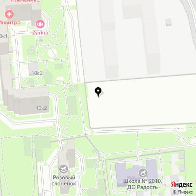 СТО-Люблино на карте Москвы
