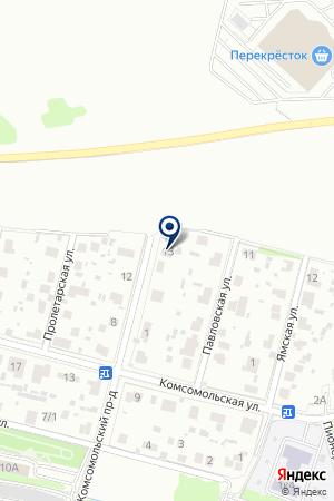 МАГАЗИН АВТОЗАПЧАСТЕЙ КАРДАН на карте Домодедово