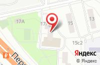 Схема проезда до компании Полиграфф в Москве