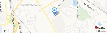 Пятая донецкая государственная нотариальная контора на карте Донецка