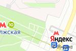 Схема проезда до компании Мегапул в Москве