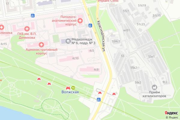 Ремонт телевизоров Юго Восточный административный округ на яндекс карте