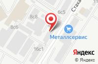 Схема проезда до компании Тд Скала в Москве