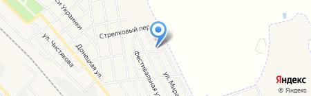 Территориальный центр временного и постоянного пребывания людей пожилого возраста Авдеевского территориального центра на карте Авдеевки