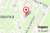 Схема проезда до компании Рубль Бум в Приволжском