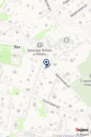 СЕРВИСНЫЙ ЦЕНТР ТРАНСКОМ на карте Дедовска