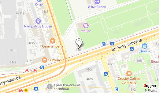 Окна Столицы. Схема проезда в Москве