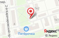 Схема проезда до компании Международная Строительная Компания  в Москве