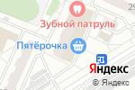 Схема проезда до компании Дом быта на Гурьевском проезде в Москве