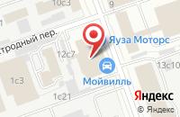 Схема проезда до компании Печатник Аб в Москве