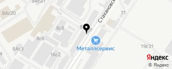 ТОК Независимость на карте Москвы
