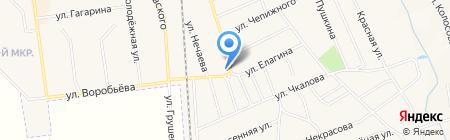 Мастер на карте Авдеевки